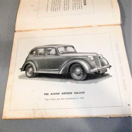 Austin Twelve Series H.S.1. and Sixteen Series B.S.1 Service Manual image-4