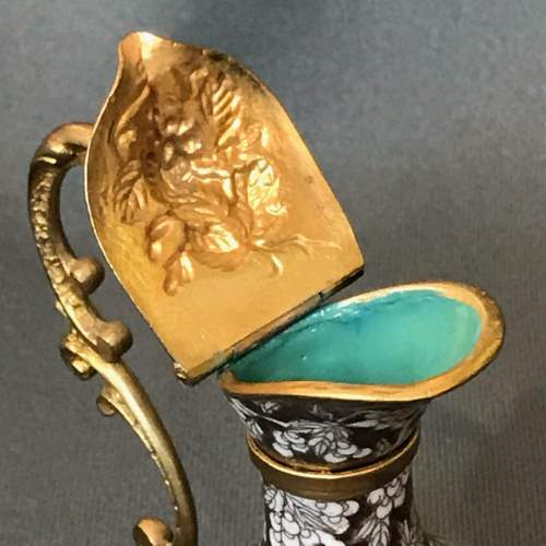 Early 19th Century Cloisonné and Gilded Bronze Ewers image-5