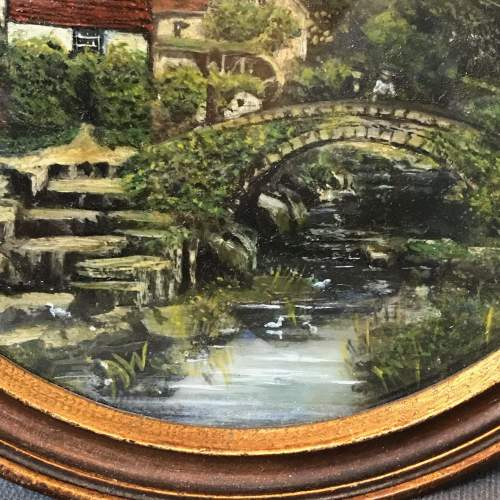 Victorian Reverse Glass Painting image-3