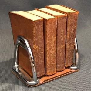 Vintage Set Of Miniature Dictionaries