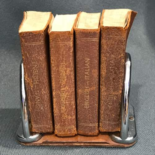 Vintage Set Of Miniature Dictionaries image-3