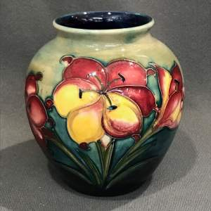 Moorcroft African Lily Pattern Vase