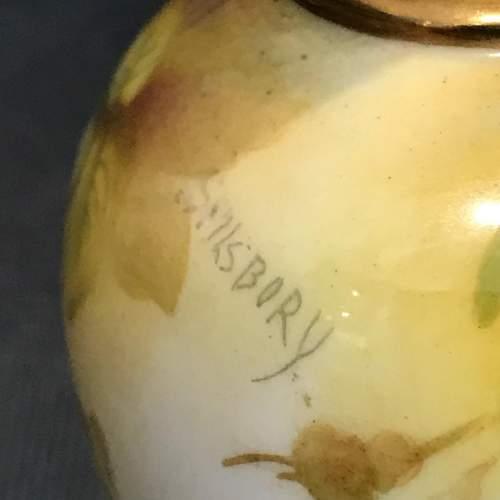 Royal Worcester Miniature Vase image-2
