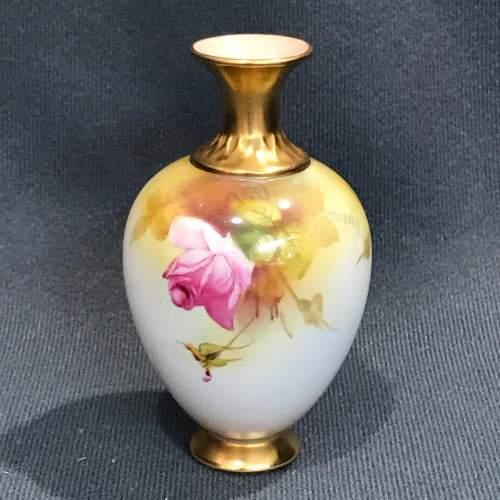 Royal Worcester Miniature Vase image-4