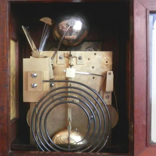 English Rosewood Bracket Clock image-2