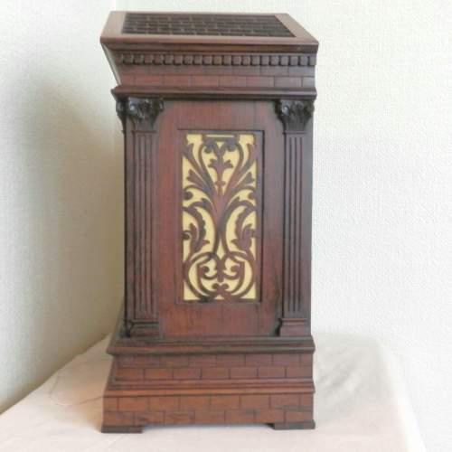 English Rosewood Bracket Clock image-3