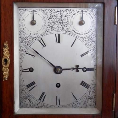 English Rosewood Bracket Clock image-5