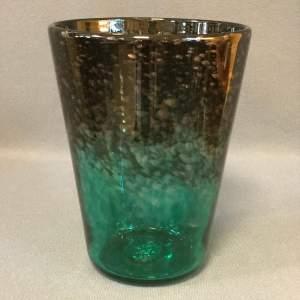 Strathearn 1960s Green Glass Vase