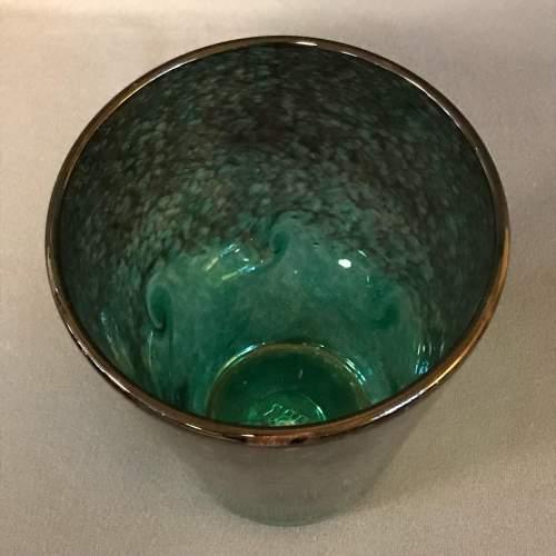 Strathearn 1960s Green Glass Vase image-2