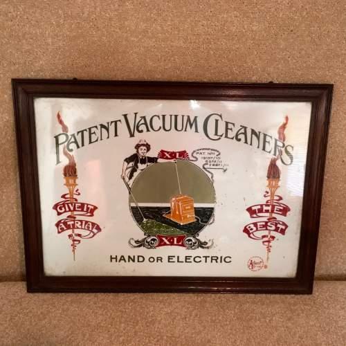 Original Advertising Panel for Patent Vacuum Cleaners image-5