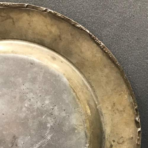 Arts and Crafts Repousse Pewter Charger image-4