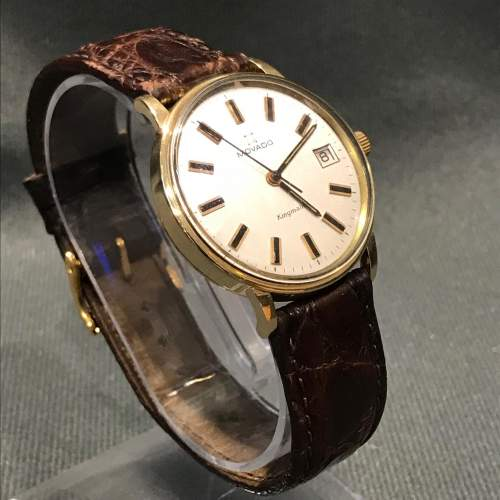 14ct Gold Zenith Movado Wristwatch image-1