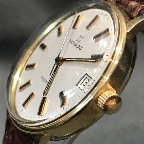 14ct Gold Zenith Movado Wristwatch image-2