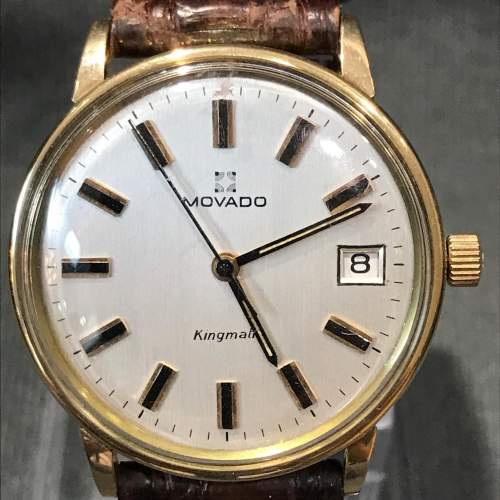 14ct Gold Zenith Movado Wristwatch image-3