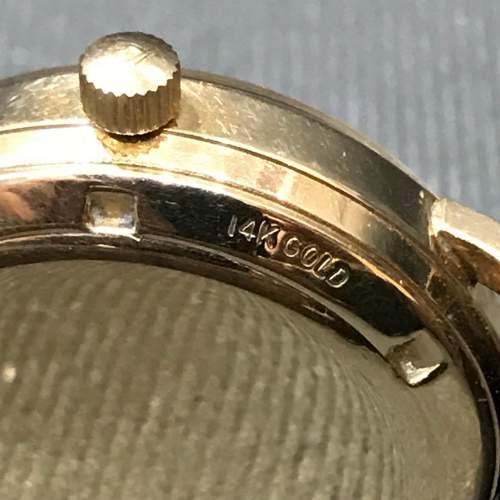 14ct Gold Zenith Movado Wristwatch image-4