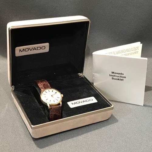 14ct Gold Zenith Movado Wristwatch image-6