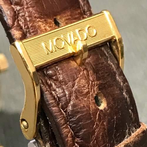 14ct Gold Zenith Movado Wristwatch image-5