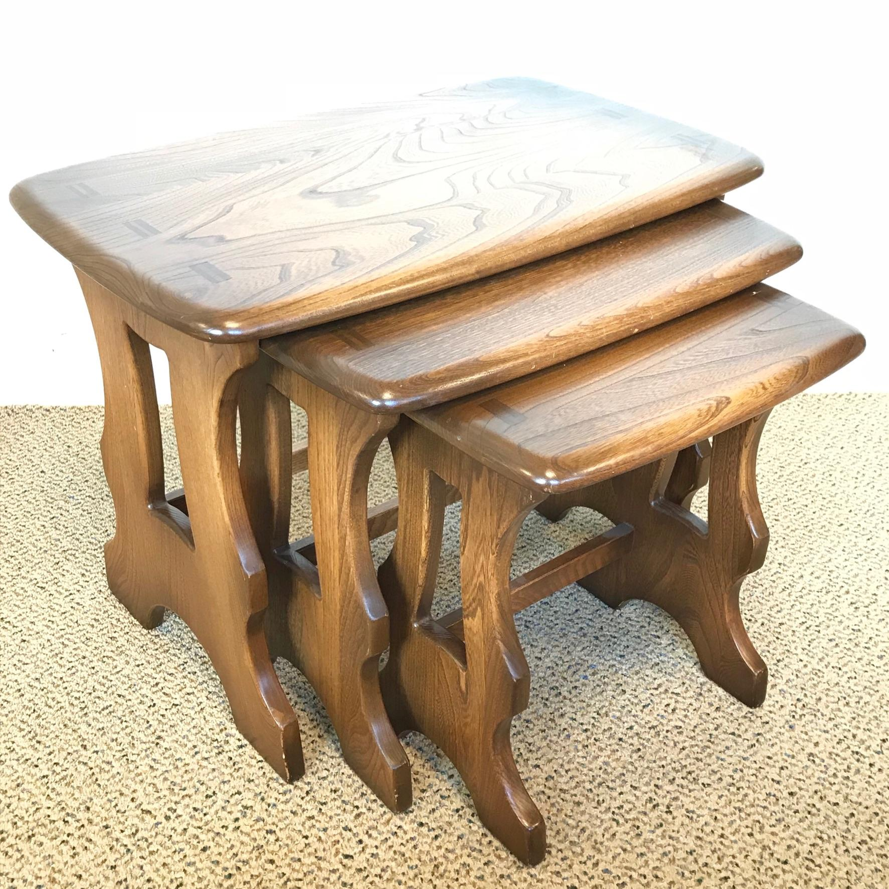 Vintage Ercol Coffee Tables For Sale: Ercol Nest Of Tables