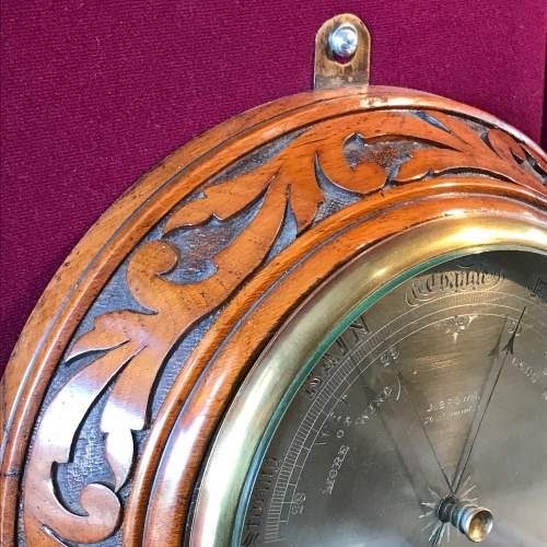 Fine Victorian Barometer by J Brown of Glasgow image-2