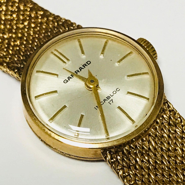 Watches Garrard 9ct Gold Ladies Wristwatch 7D34E3C0 F7F7 42E3 BEF2 EE907BDF938Ejpeg
