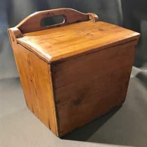 19th Century Swedish Pine Salt Box