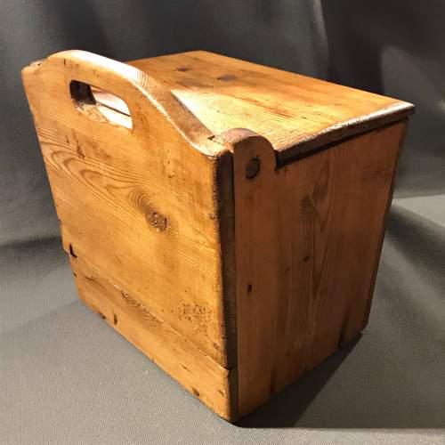 19th Century Swedish Pine Salt Box image-3