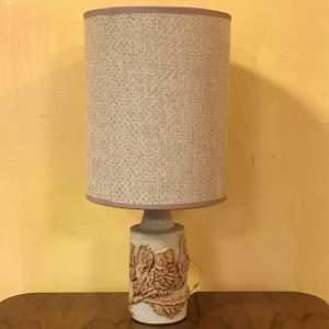 Bernard Rooke Stoneware Table Lamp