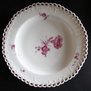 Royal Porcelain Factory Berlin Circa 1790 Hand Painted Plate (Plate #5)