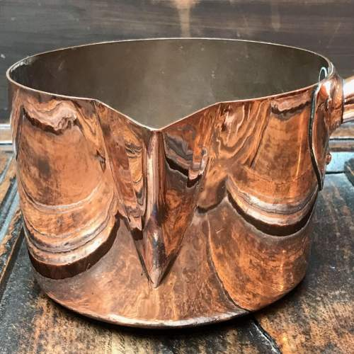 Victorian Copper Pouring Pan image-2