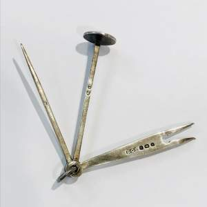 Edwardian Silver Pipe Tools