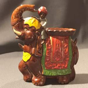 Ceramic Decanter in the form of an Elephant