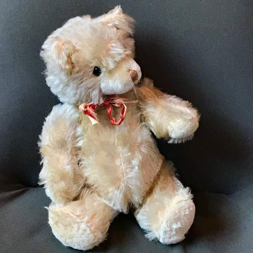1950s Vintage Blonde Jointed Teddy Bear image-1