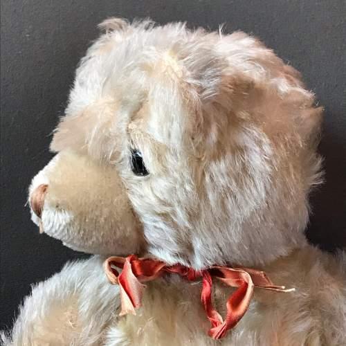 1950s Vintage Blonde Jointed Teddy Bear image-2