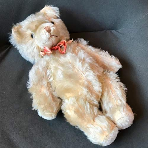 1950s Vintage Blonde Jointed Teddy Bear image-3