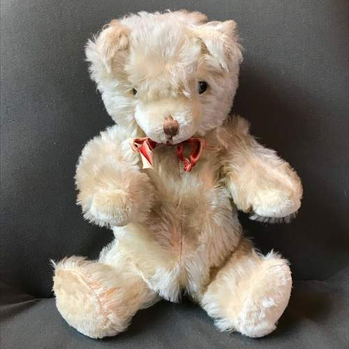 1950s Vintage Blonde Jointed Teddy Bear image-4