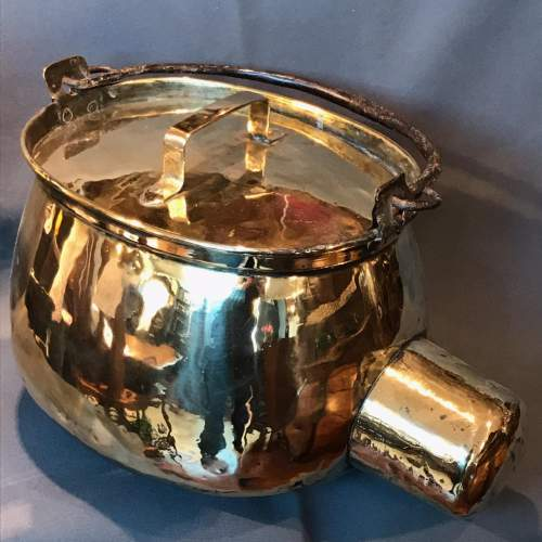 19th Century Brass Ham Leg Boiler image-4