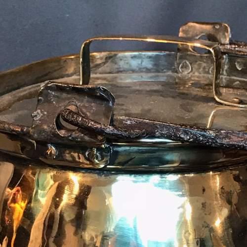 19th Century Brass Ham Leg Boiler image-6