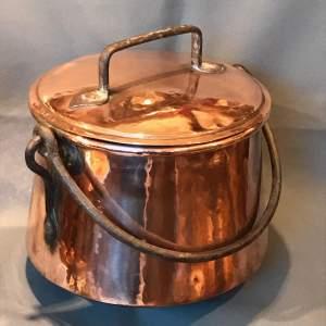 Arts and Crafts Copper Cauldron