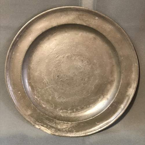 18th Century Pewter Charger image-1