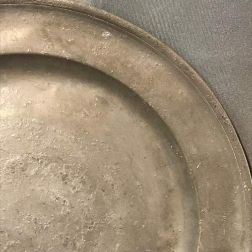 18th Century Pewter Charger image-2
