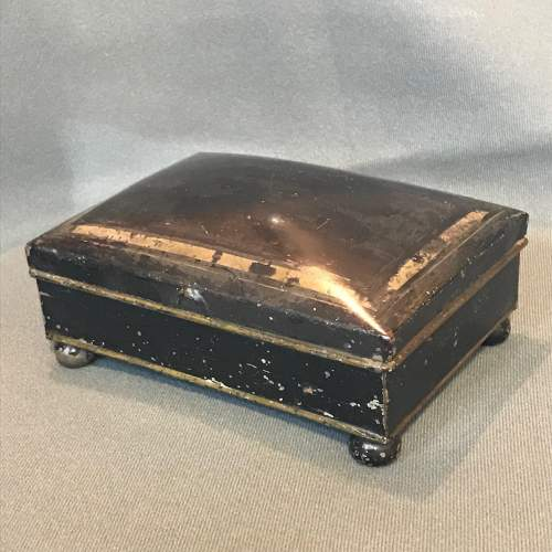 Early 19th Century Toleware Spice Box image-2