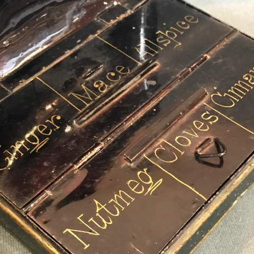Early 19th Century Toleware Spice Box image-4