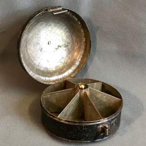 Georgian Toleware Spice Box