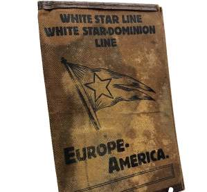 White Star Line Leather Ticket Holder