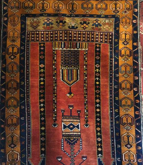 Old Hand Knotted Turkish Rug Yahyali image-3