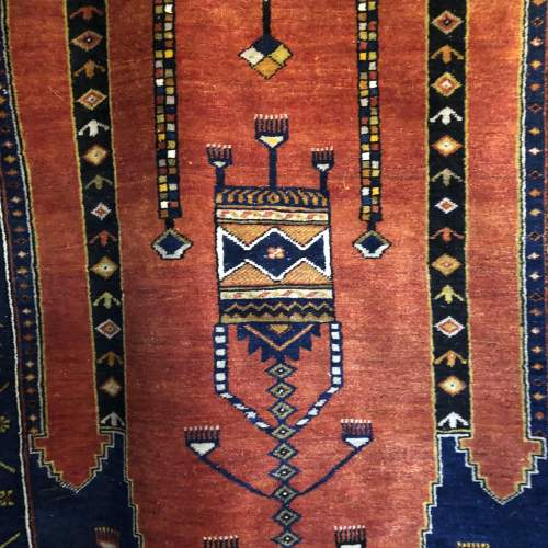 Old Hand Knotted Turkish Rug Yahyali image-1