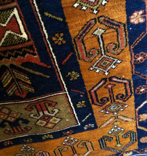 Old Hand Knotted Turkish Rug Yahyali image-4