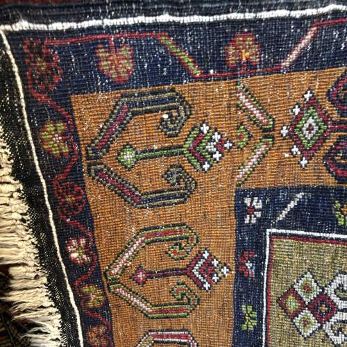 Old Hand Knotted Turkish Rug Yahyali image-5
