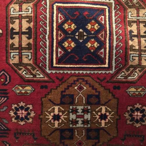 Superb Old Hand Knotted Tribal Caucasian Kazak image-3