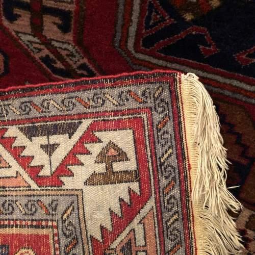 Superb Old Hand Knotted Tribal Caucasian Kazak image-4
